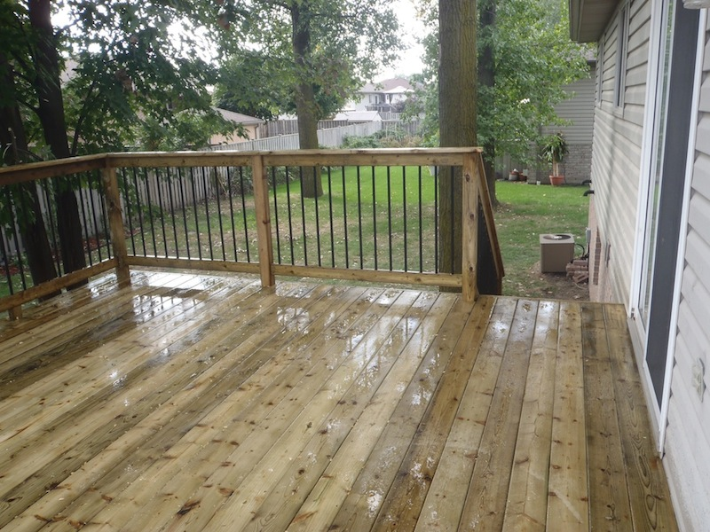 Lasalle wood deck