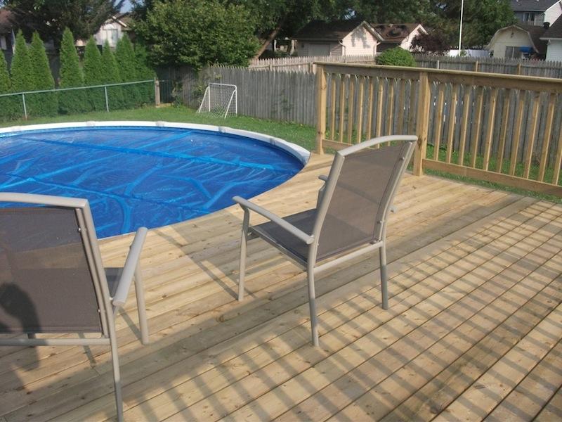 Tecumseh pool deck