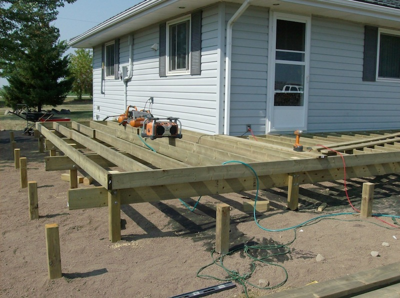 Deck framing