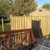 Belle River semi-privacy fence