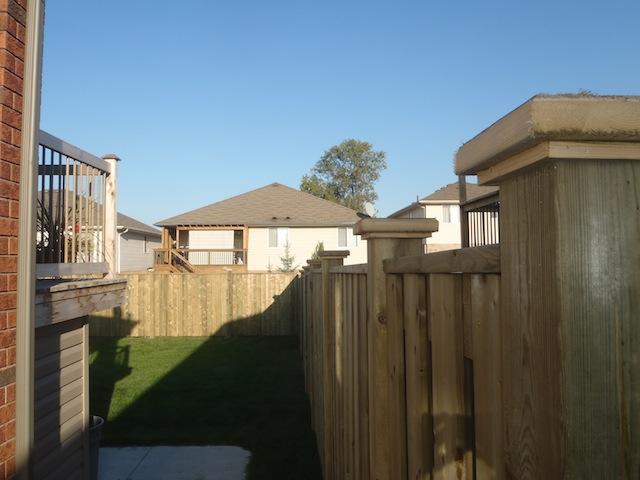 Windsor semi-privacy fence