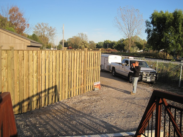 Fence Finished