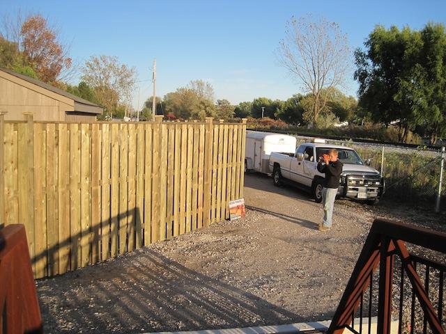 Fence Finished