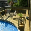 top view pool deck