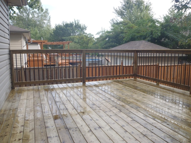 Lasalle pressure treated deck