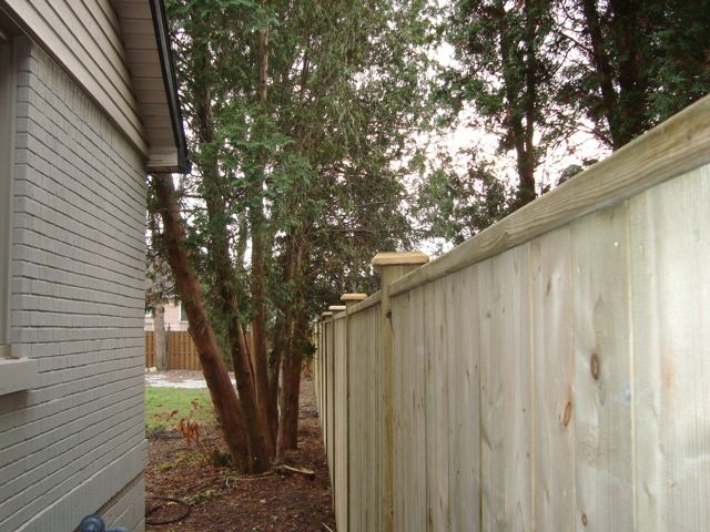 Windsor privacy fence