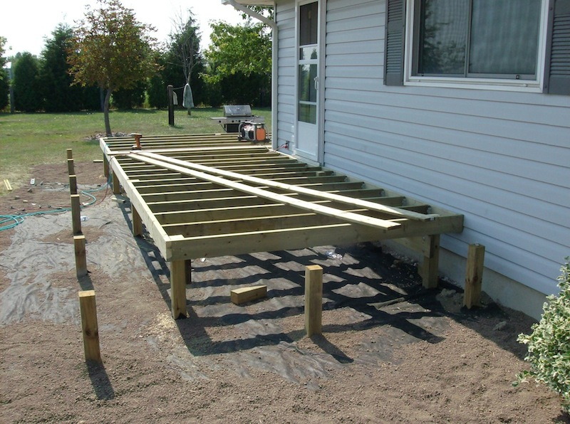 wrap around stairs deck framing decks and fences by ryan windsor