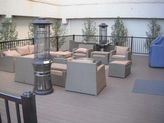 Downtown Windsor PVC deck