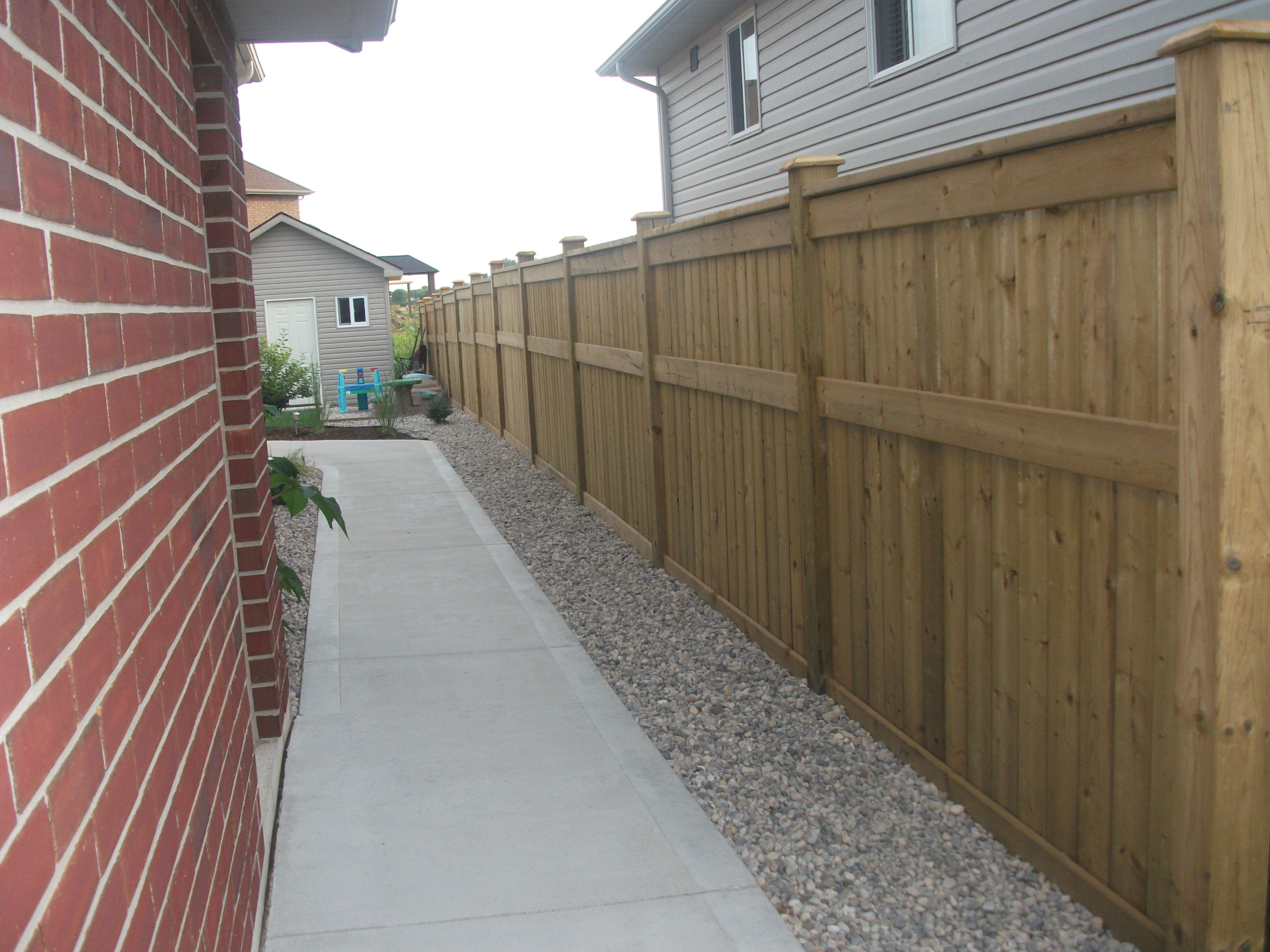 pt wood fence