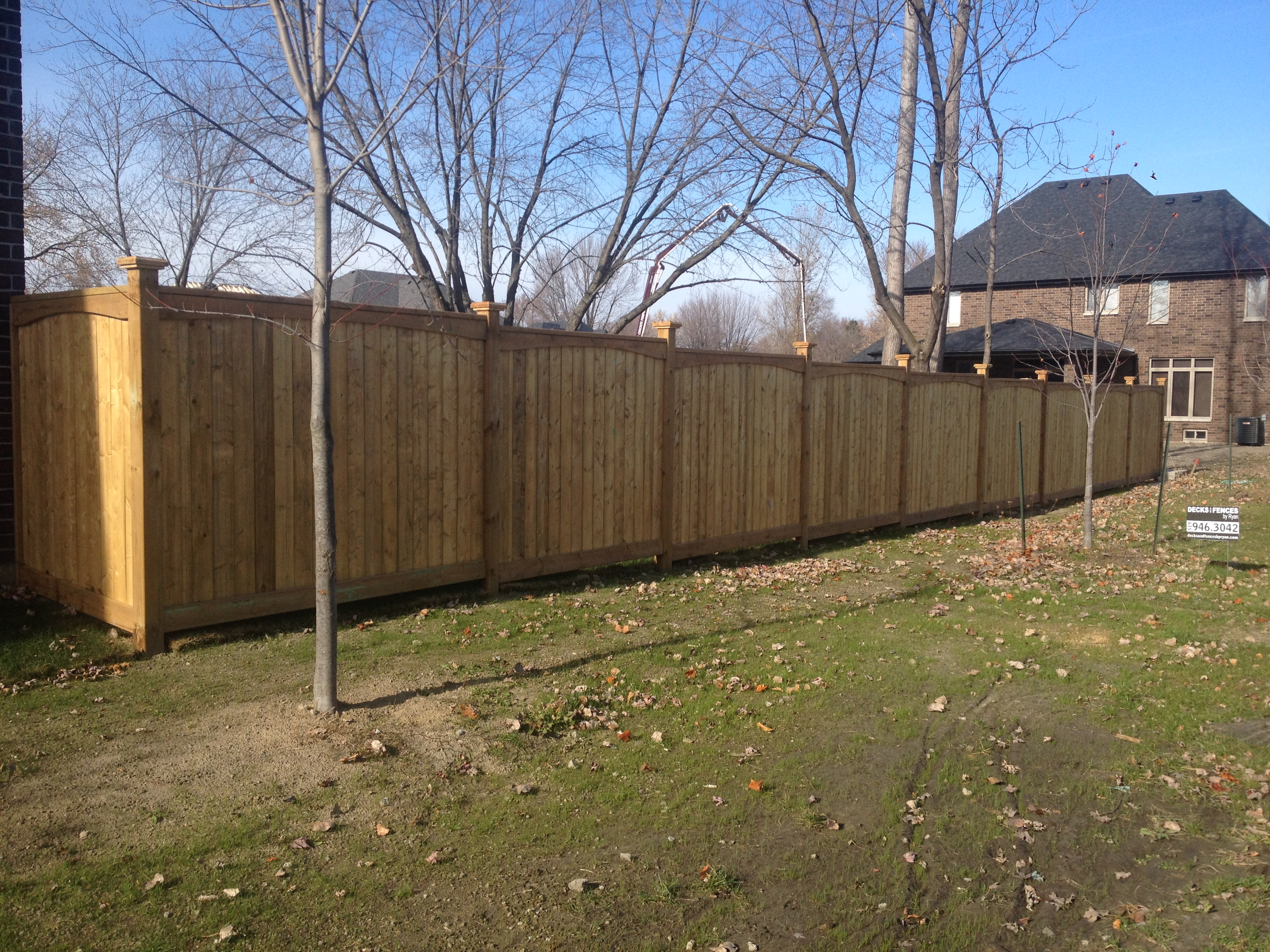 Pressure treated fence in lasalle