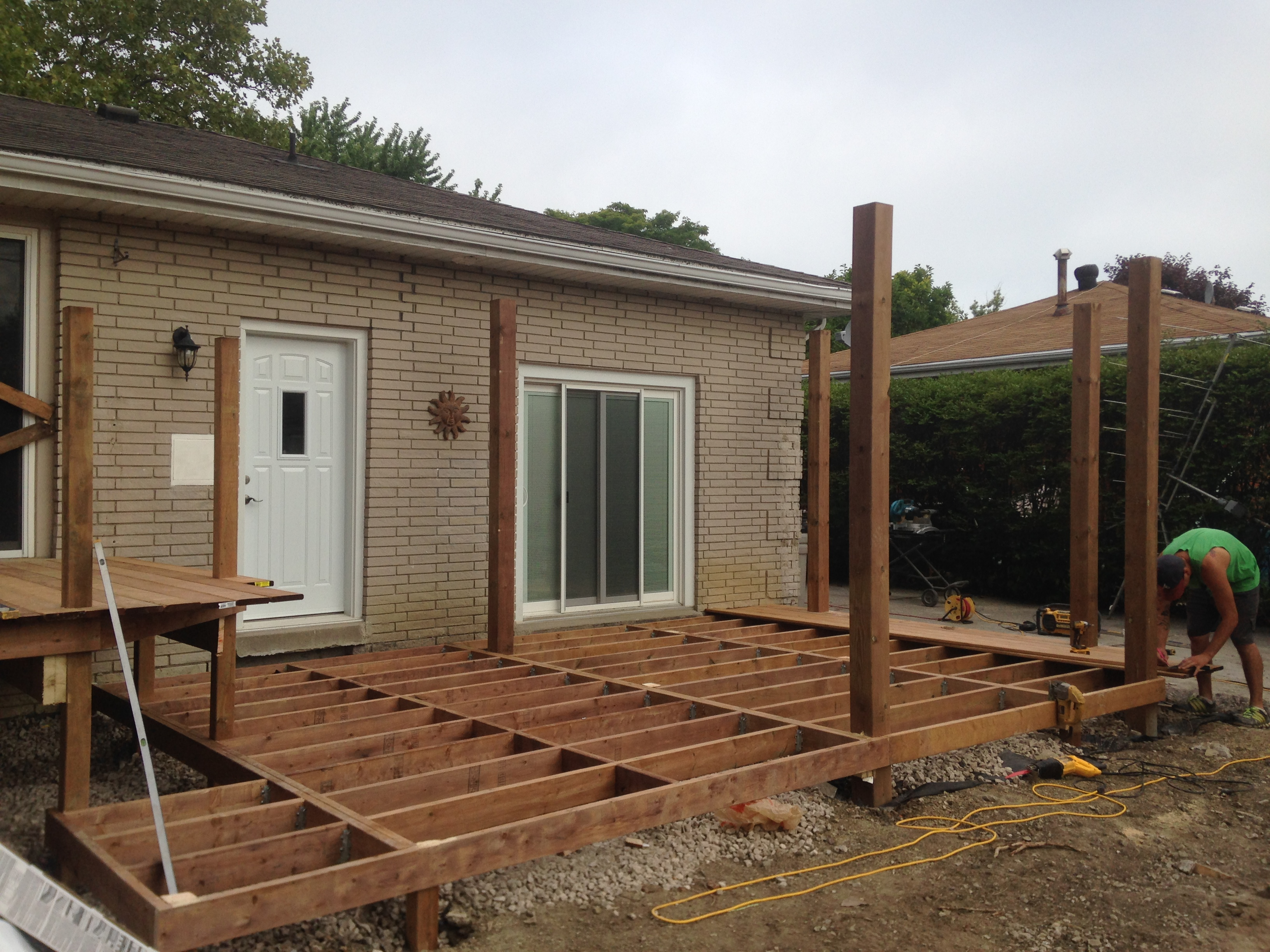large deck framing | Decks and Fences by Ryan | Windsor, Ontario ...