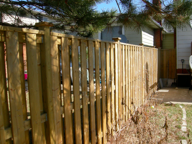 how to build a tall fence