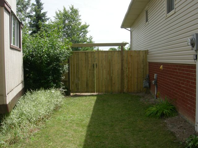 Fence Gate With Arbor Decks And Fences By Ryan Windsor