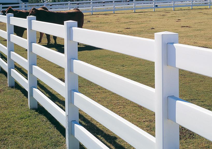 Farm Fence/4 Rail fence
