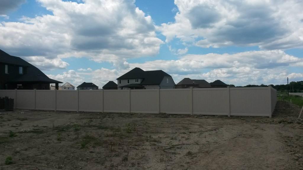 almond vinyl fence privacy fences30 vinyl