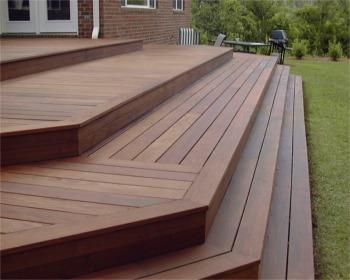 Ipe deck material